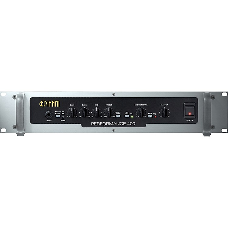 Epifani PS400 Bass Amp Head Black