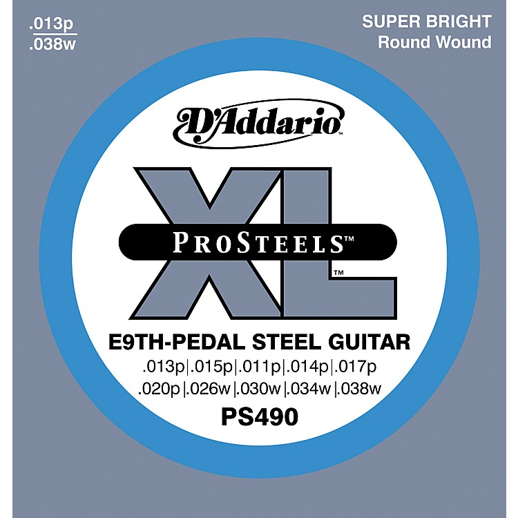 D'AddarioPS490 ProSteels E9th Pedal Steel Guitar Strings