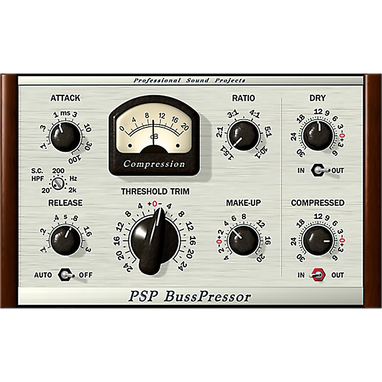 PSP Audioware PSP BussPressor Software Download