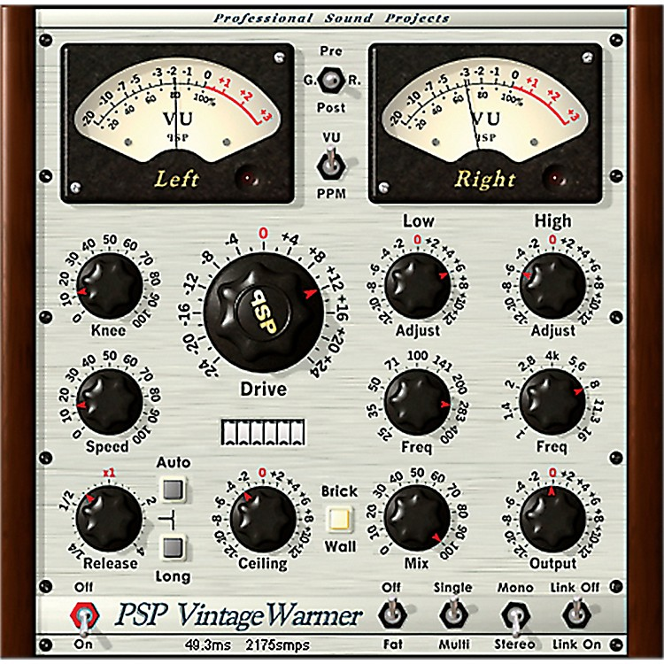 PSP Audioware PSP VintageWarmer2 Software Download