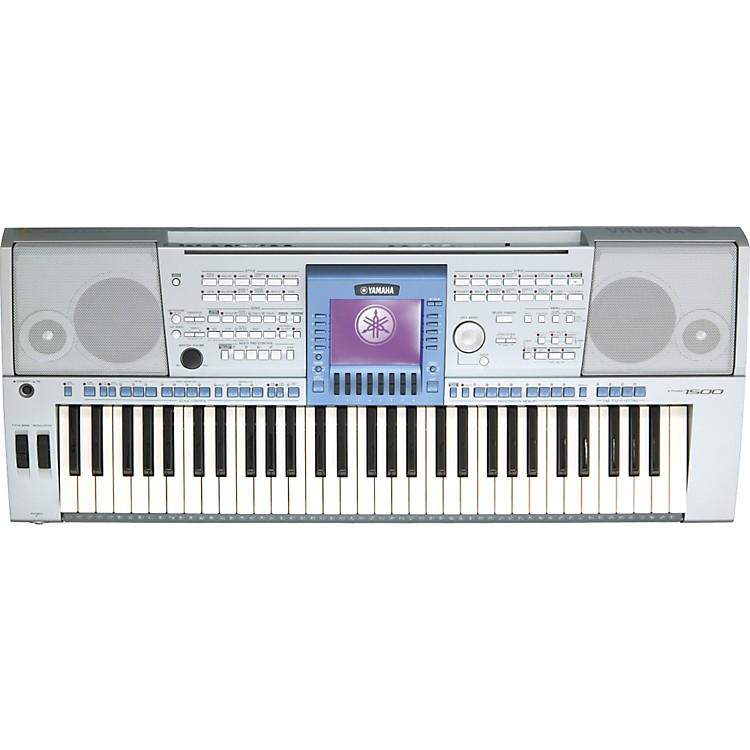 yamaha psr 1500 61 key arranger workstation music123. Black Bedroom Furniture Sets. Home Design Ideas
