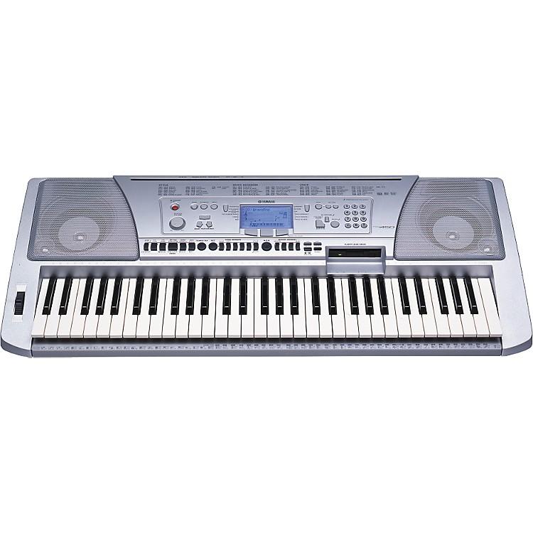 Yamaha psr 450 61 key portable keyboard with disk drive for Yamaha midi controller keyboard