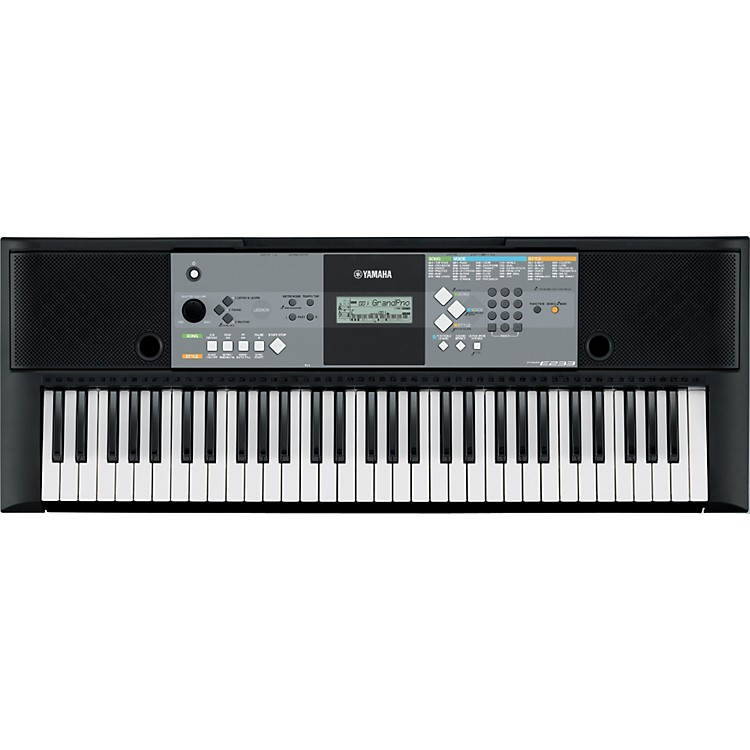 Yamaha PSR-E233 61-Key Entry-Level Portable Keyboard with Survival Kit
