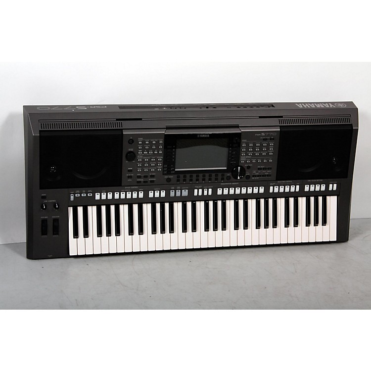 YamahaPSR-S770 61-Key Arranger Workstation888365911311