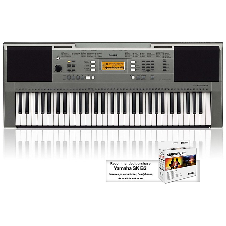 YamahaPSRE353 61-Key Portable KeyboardKeyboard Only