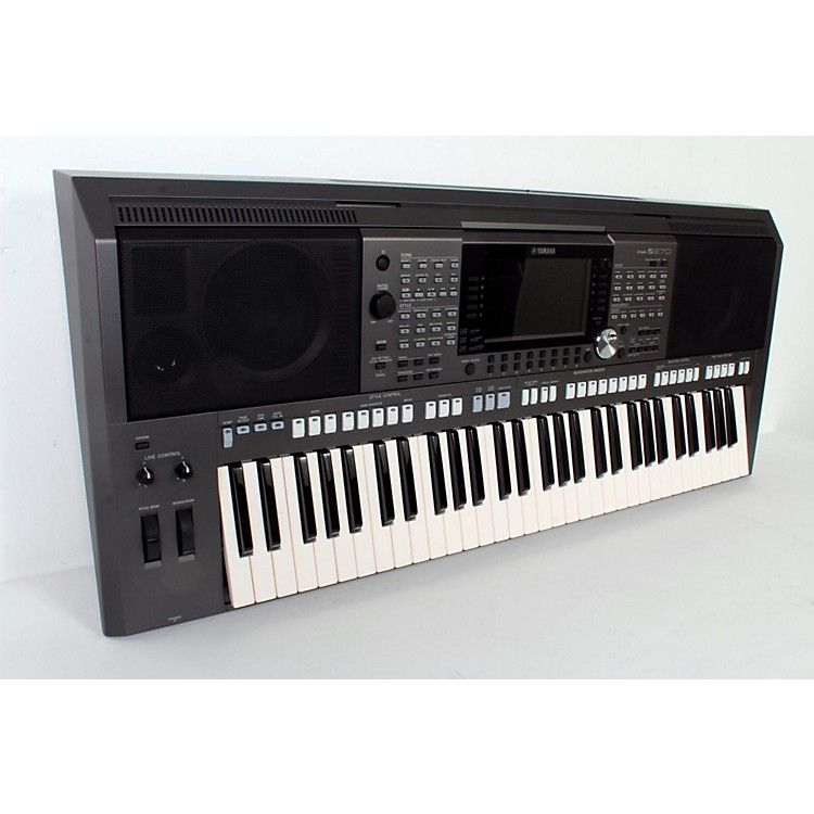 Yamaha PSRS970 61 Key Arranger Workstation  888365808550