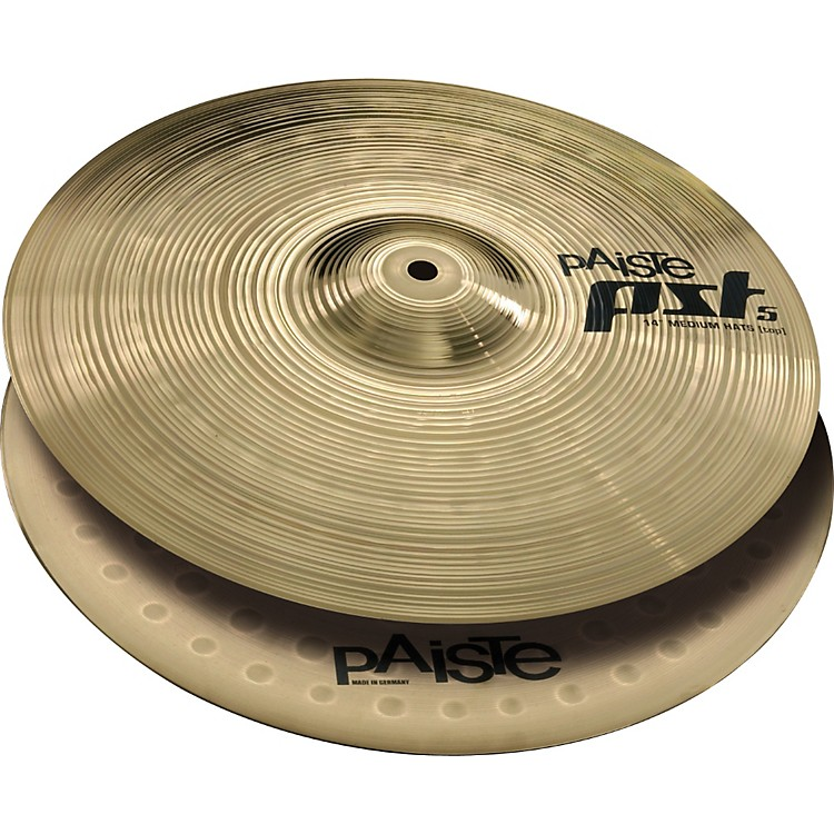 Paiste PST 5 Medium Hi-Hats  14 Inches