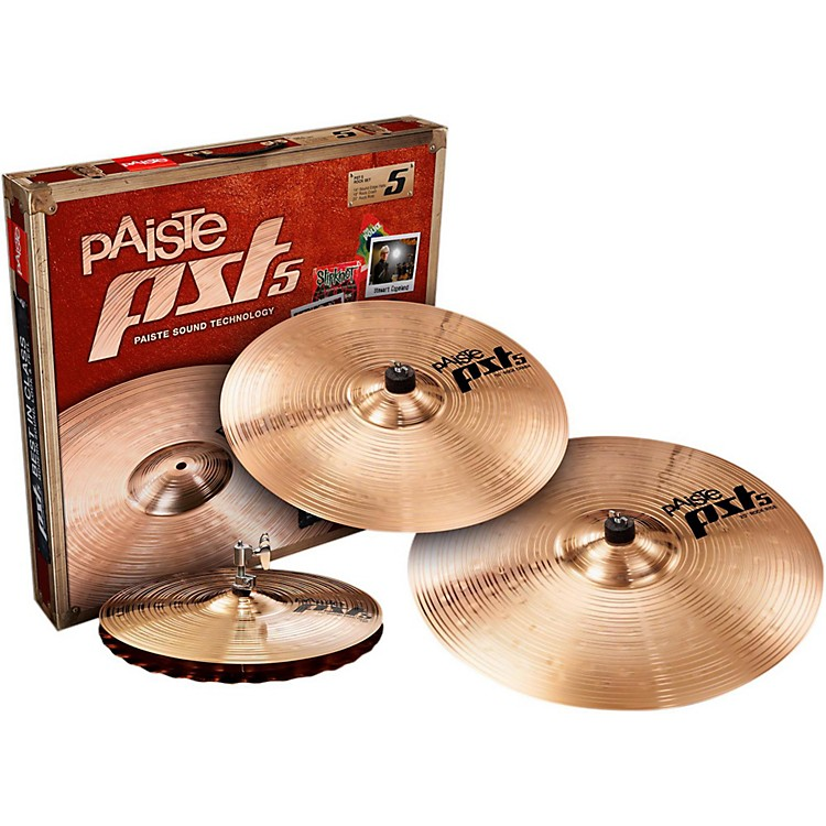 Paiste PST 5 Rock Set 14, 16 and 20 in.