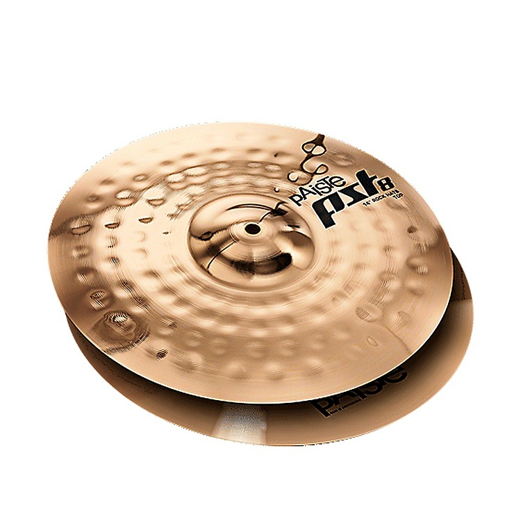 Paiste PST 8 Reflector Rock Hi-Hats 14 in.
