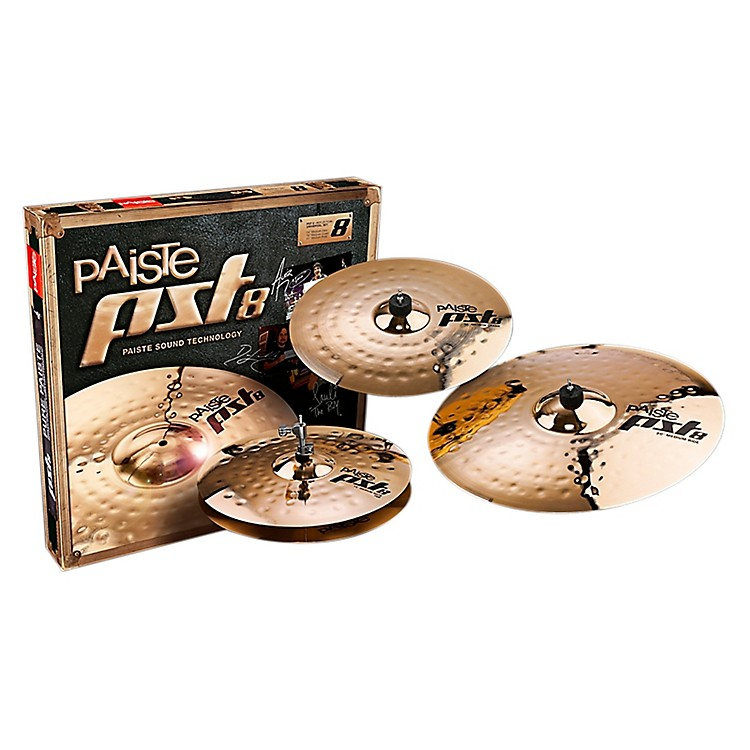 Paiste PST 8 Reflector Universal Set 14, 16 and 20 in.