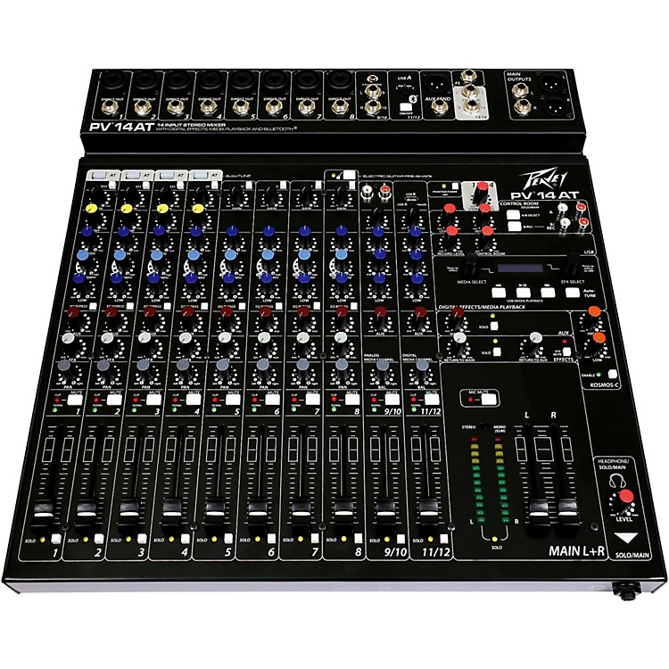 PeaveyPV 14 AT Mixer with Autotune