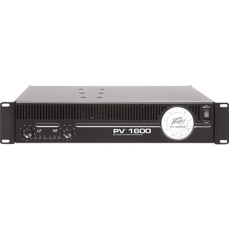 Peavey PV 1600 Bi-Pack Power Amplifier