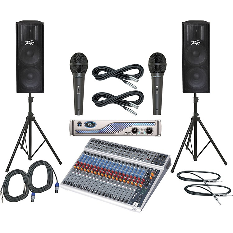 Peavey PV20 USB / IPR 3000 / PV215 PA Package