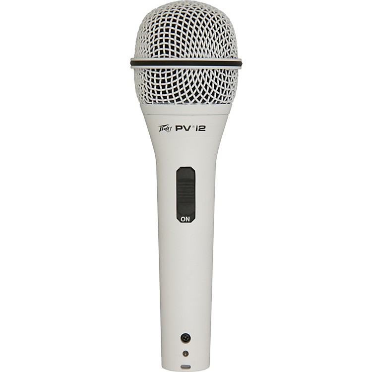 PeaveyPVI 2 1/4 Dynamic Handheld Microphonewhite