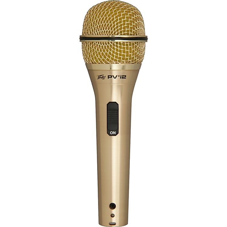 PeaveyPVi 2G 1/4 Dynamic Handheld MicrophoneGold