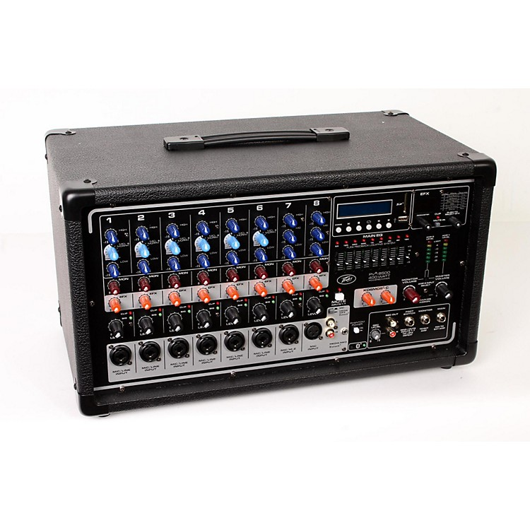 Peavey PVi 8500 8-Channel 400W Powered PA Head with Bluetooth and FX Regular 888365856797