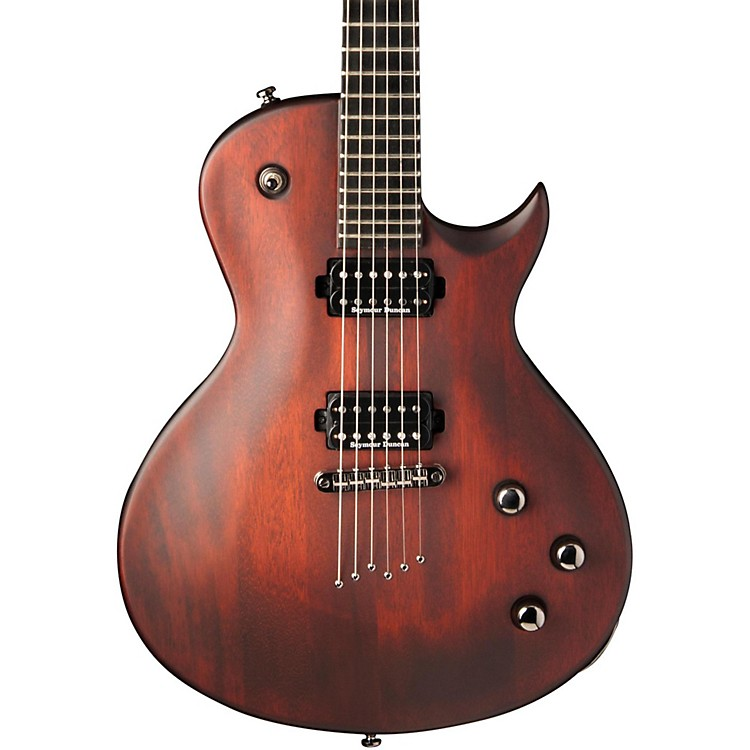 Washburn PXL10 Parallaxe Series Electric Guitar Walnut Stain
