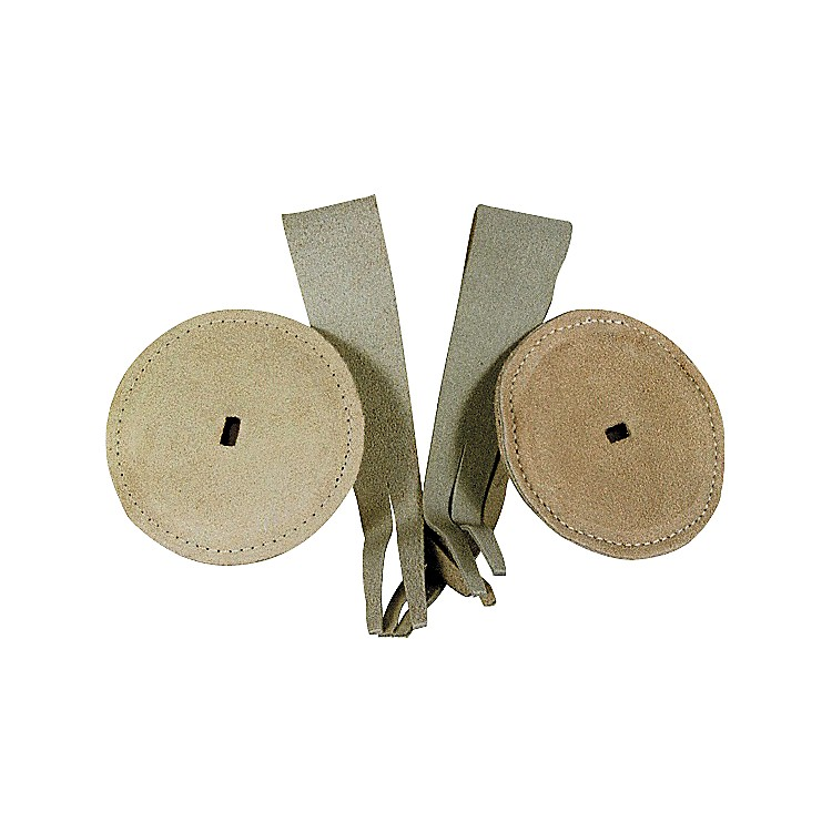 Duplex Pad And Strap Set for Cymbals With Leather Pads