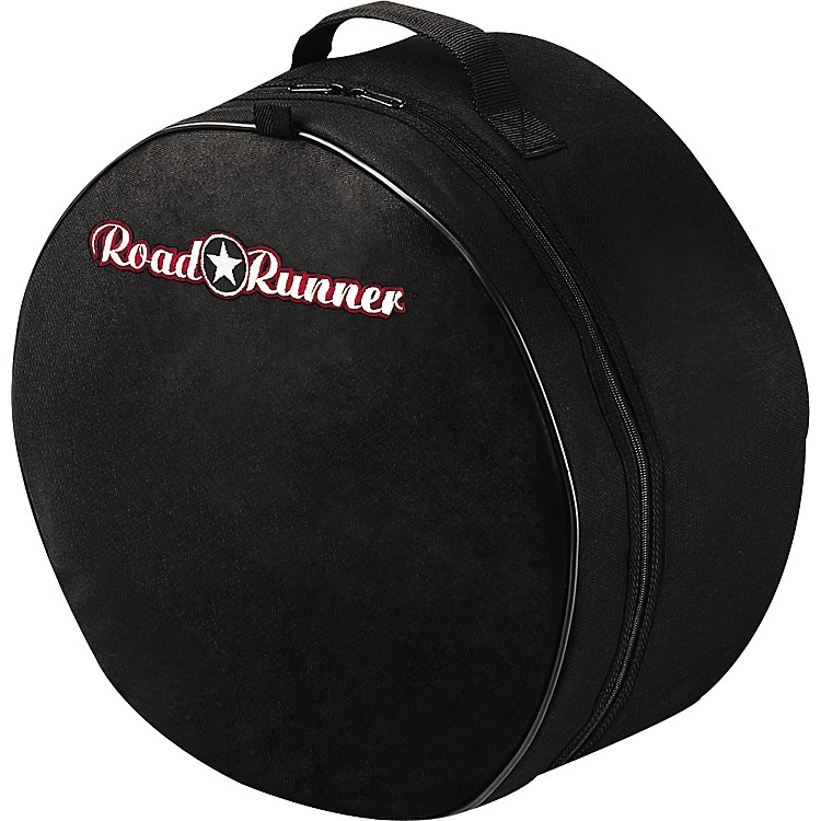 Road Runner Padded Snare Drum Bag Black 5.5X14 Inches