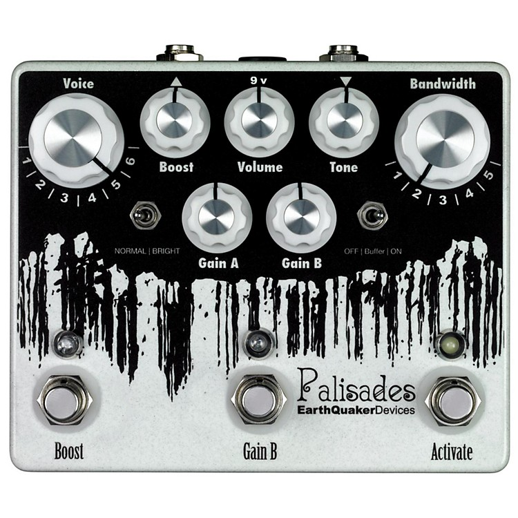 EarthQuaker Devices Palisades Mega Ultimate Overdrive Guitar Effects Pedal