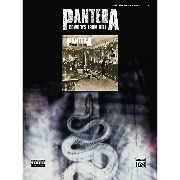 Hal Leonard Pantera - Cowboys From Hell Guitar Tab