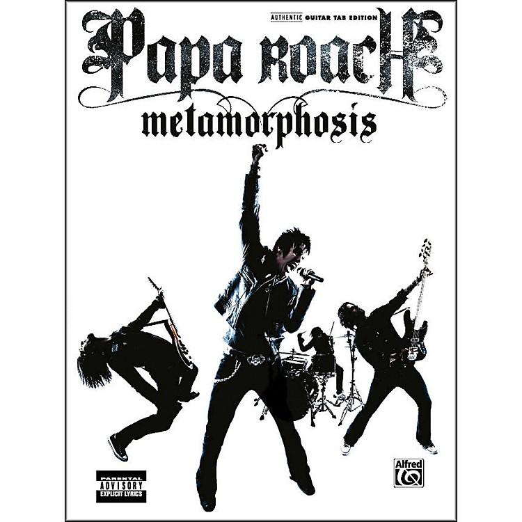 AlfredPapa Roach - Metamorphosis Guitar Tab Book