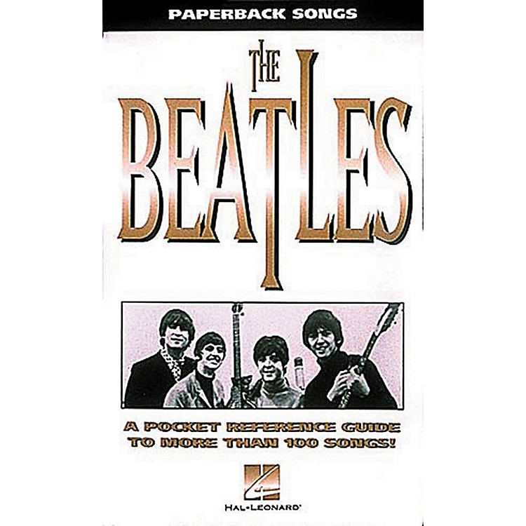 Hal Leonard Paperback Songs - Pocketsize Beatles Guitar Tab Book