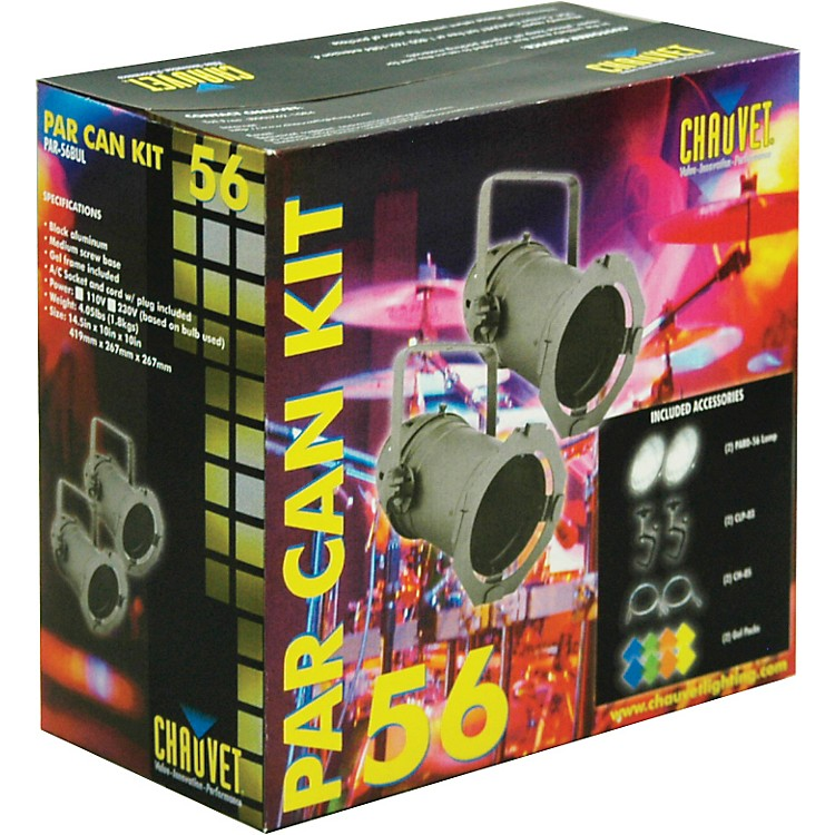 Chauvet Par 56 twin pack