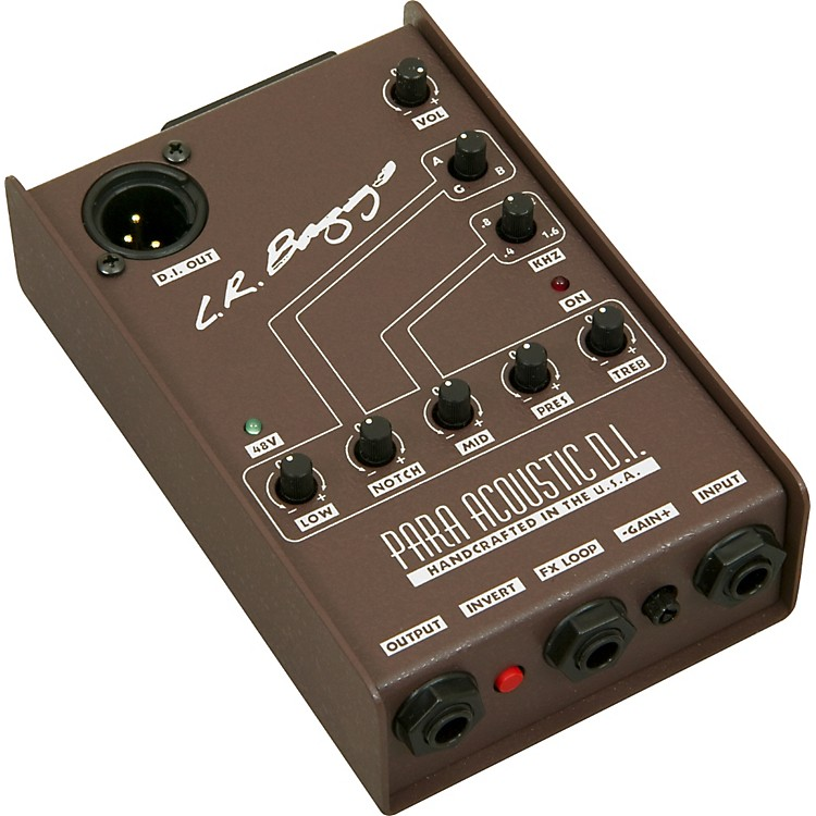 LR Baggs Para Acoustic Guitar DI and Preamp