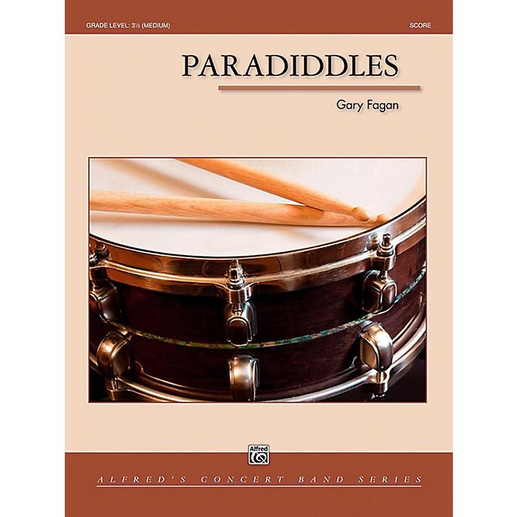 AlfredParadiddles Concert Band Grade 3.5 (Medium)