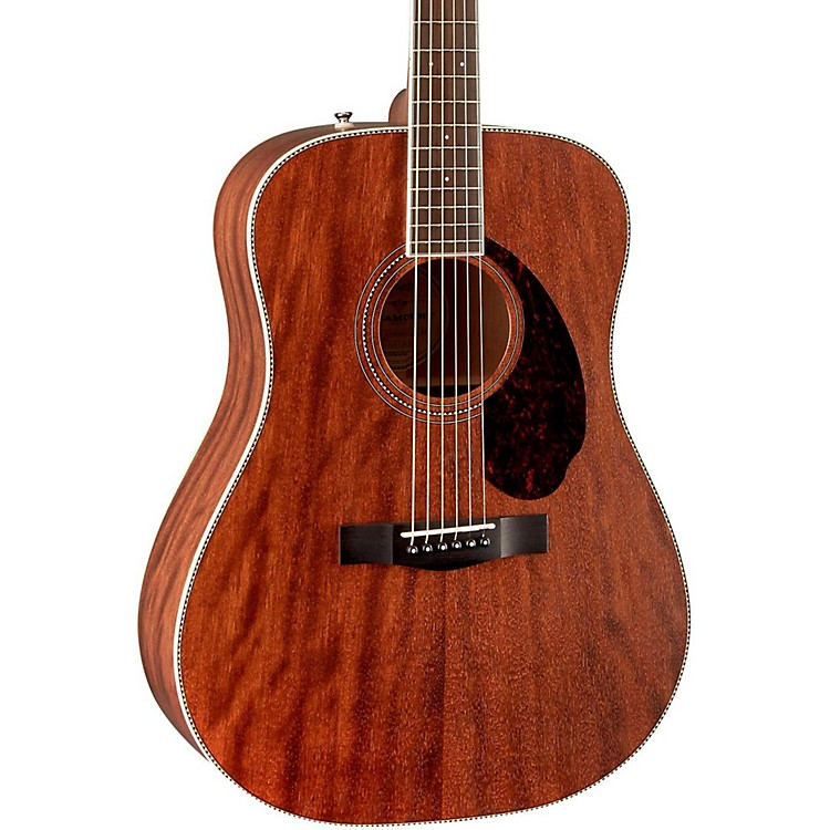 Fender Paramount Series PM-1 Standard Dreadnought NE Acoustic-Electric Guitar Natural