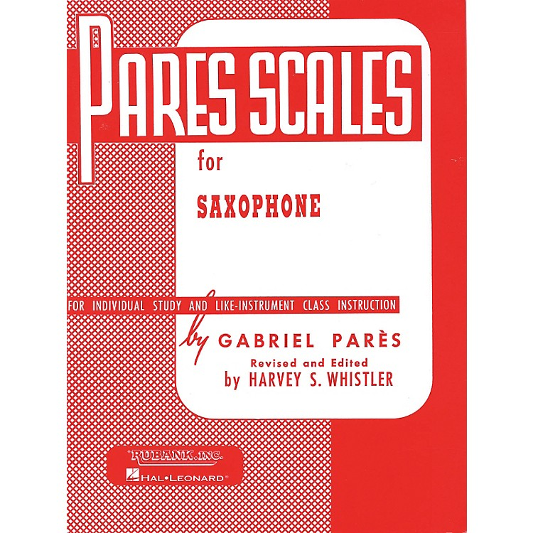 Hal Leonard Pares Scales For Saxophone