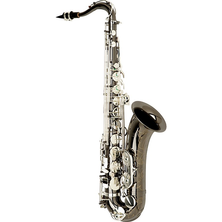 Allora Paris Series Professional Tenor Saxophone AATS-805 - Black Nickel Body - Silver Plated Keys