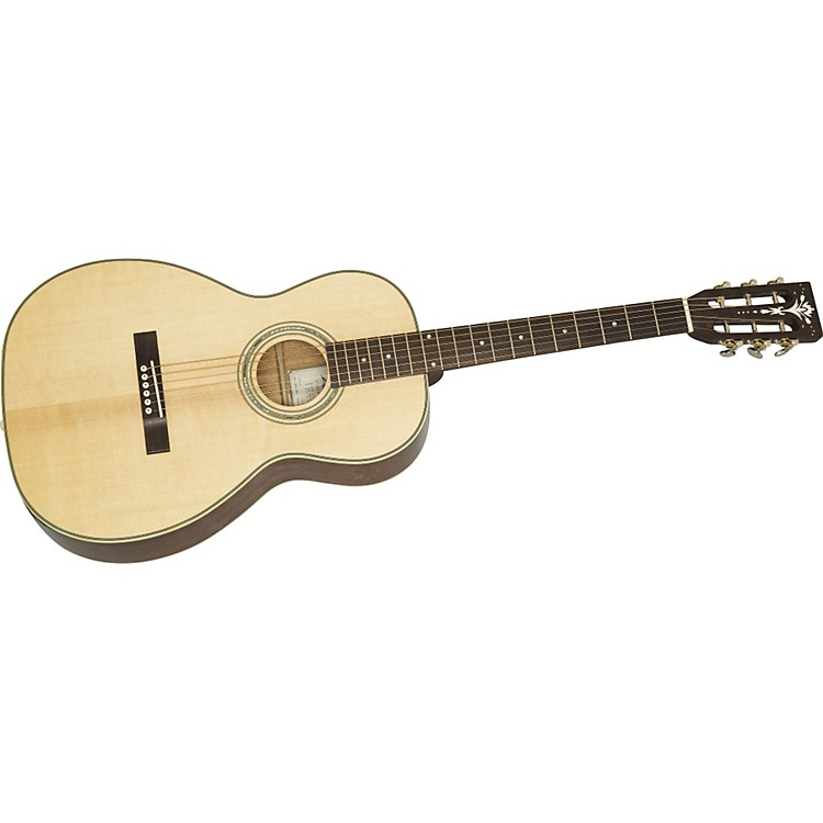 Aria Parlor Deluxe Acoustic Guitar Natural