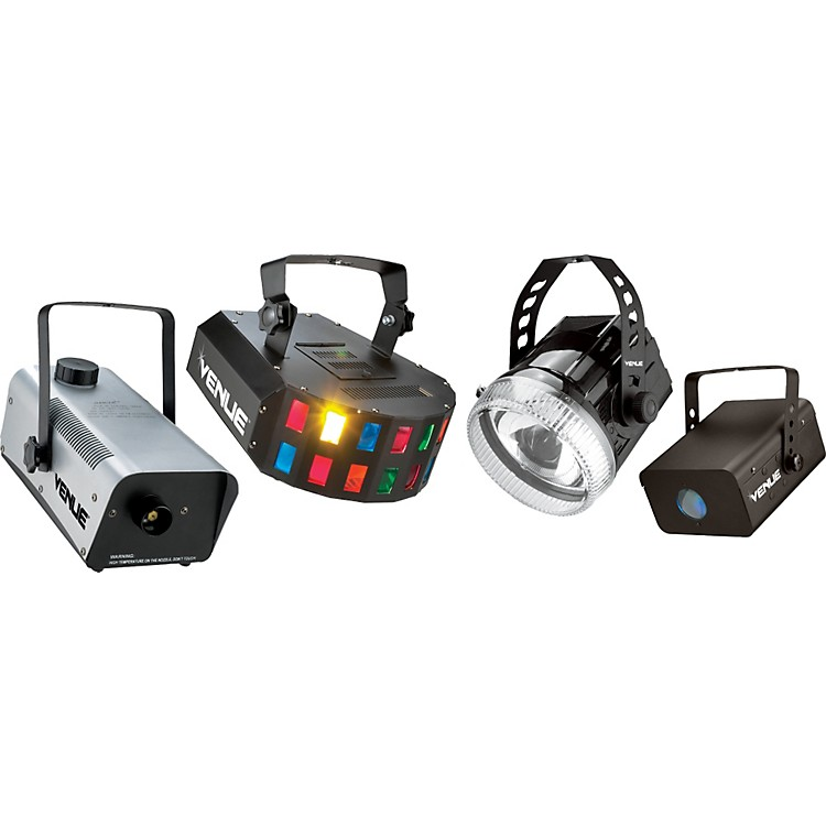 VenueParty Pack with Lighting Effects and Fog Machine