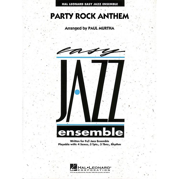 Hal LeonardParty Rock Anthem - Easy Jazz Ensemble Series Level 2