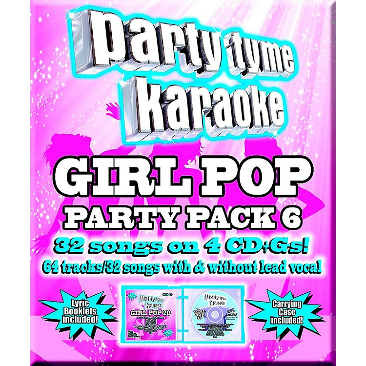 SYBERSOUNDParty Tyme Karaoke - Girl Pop Party Pack 6