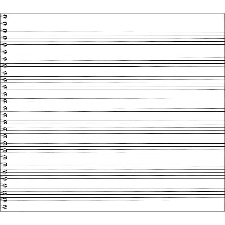 Music SalesPassantino Spiral Book No.79, 8 Stave, 64 Pages, 8X7