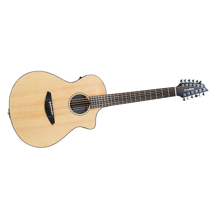 Breedlove Passport-12 String Acoustic-Electric Guitar Natural