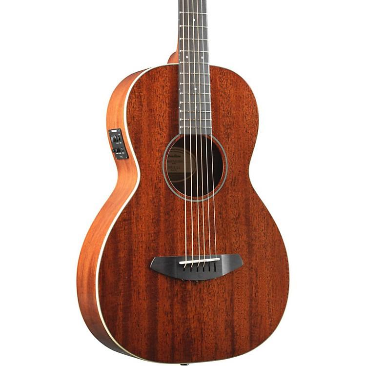 BreedlovePassport Mahogany Top Parlor Acoustic-Electric GuitarNatural
