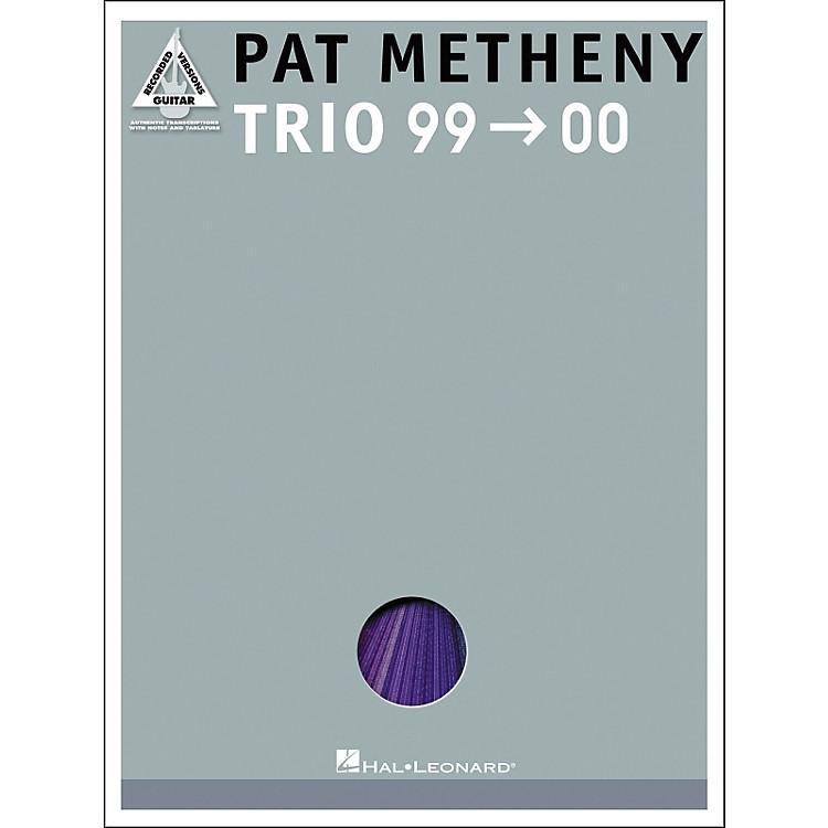 Hal LeonardPat Metheny Trio '99-'00 Guitar Tab Songbook