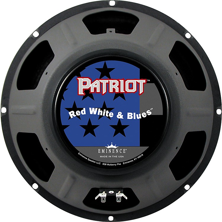 Eminence Patriot Red White and Blues 120W Guitar Speaker  12 in.