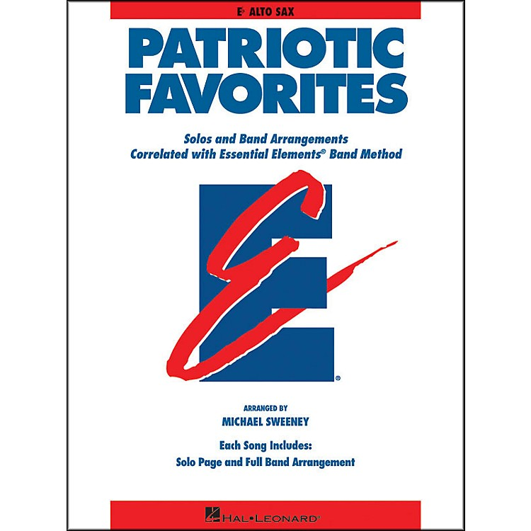 Hal Leonard Patriotic Favorites Eb Alto Saxophone