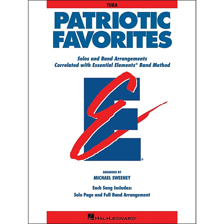 Hal Leonard Patriotic Favorites Tuba
