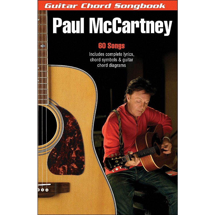 Hal Leonard Paul McCartney Guitar Chord Songbook