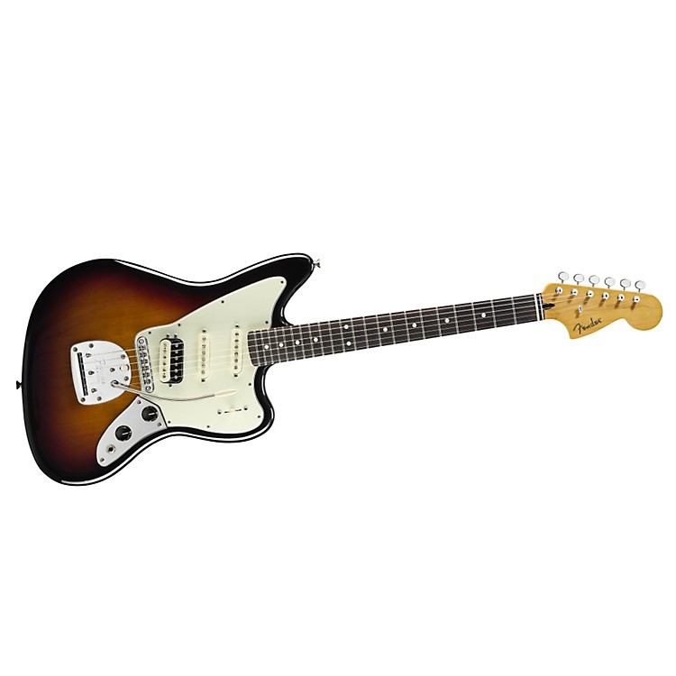 Fender Pawn Shop Jaguarillo Electric Guitar 3 Color Sunburst Rosewood Fingerboard
