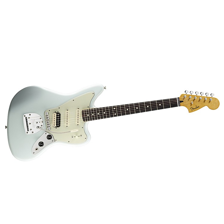Fender Pawn Shop Jaguarillo Electric Guitar Faded Sonic Blue Rosewood Fingerboard