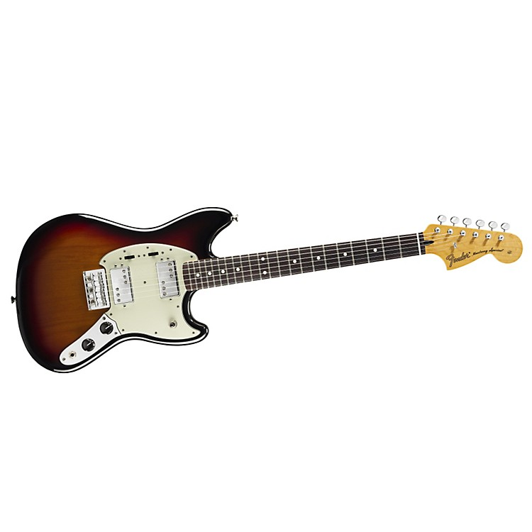 Fender Pawn Shop Mustang Special Electric Guitar 3 Color Sunburst Rosewood Fingerboard