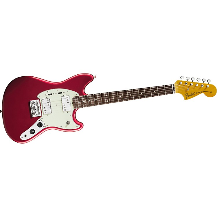 Fender Pawn Shop Mustang Special Electric Guitar Candy Apple Red Rosewood Fretboard
