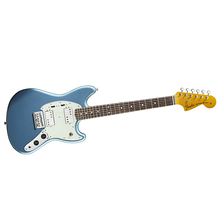 Fender Pawn Shop Mustang Special Electric Guitar Lake Placid Blue Rosewood Fingerboard